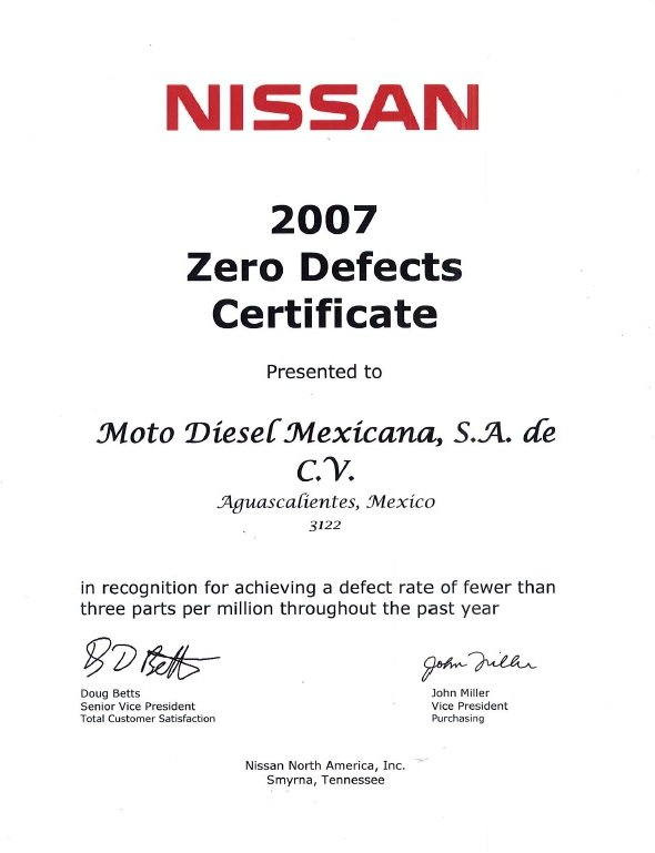 ZERO DEFECT2007NISSAN.jpg